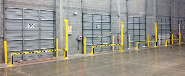 BarriGates installed at Michelin warehouse & Guardian Dock Products - Shut down your dock door repair costs! Pezcame.Com